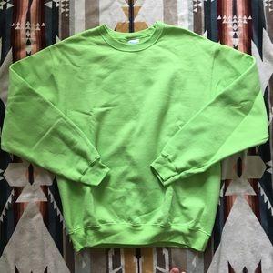 Lime Green Sweatshirt